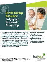 Health Savings Accounts: Bridging the Retirement Savings Gap