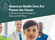 Learn how recetn legislative efforts favor health savings accounts  - Whitepaper